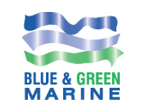 Blue and Green Marine
